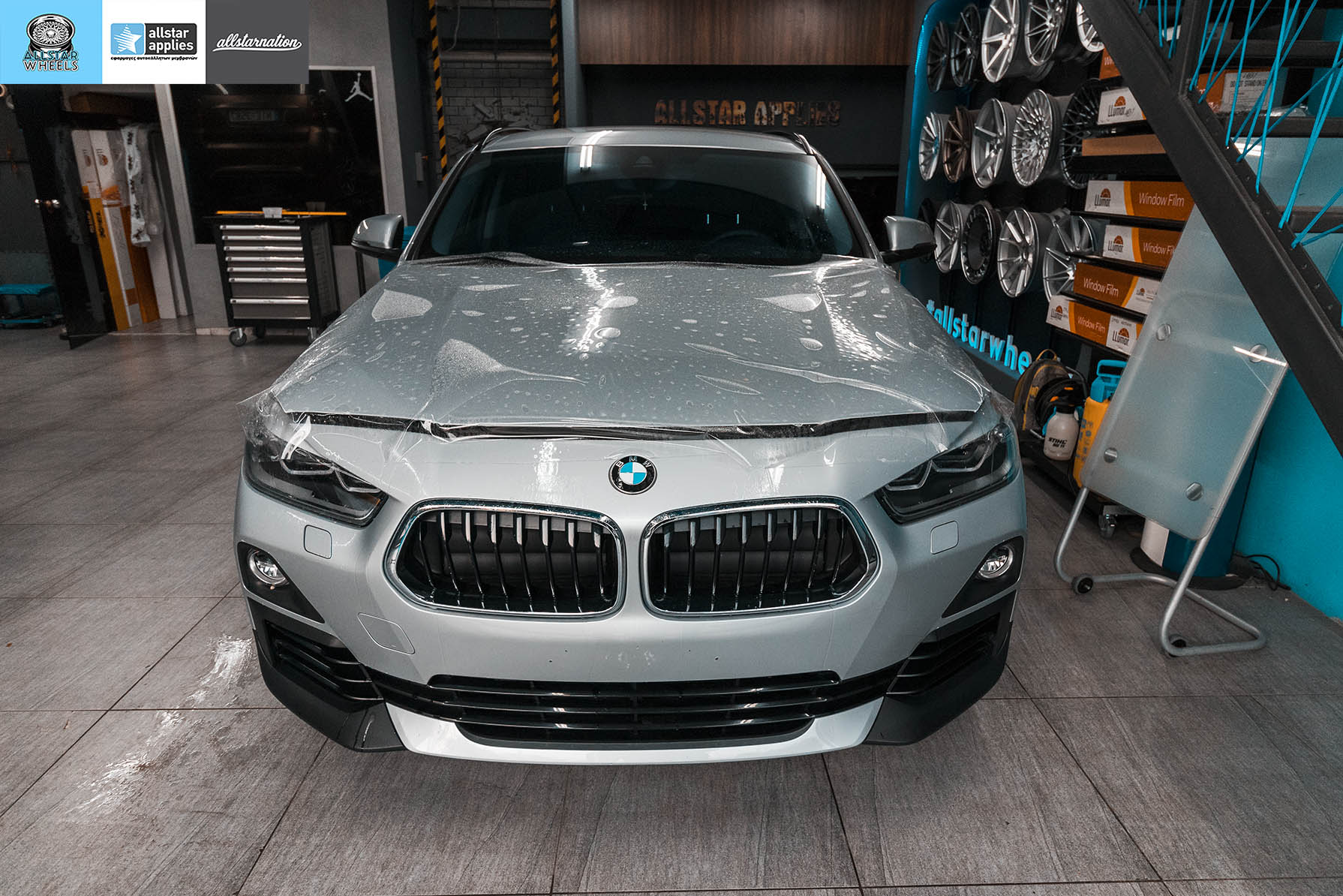 BMW X2 SDRIVE PAINT PROTECTION FILM ALLSTAR APPLIES (4)