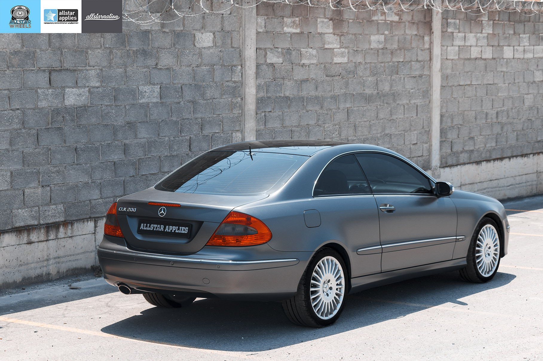 MERCEDES BENZ CLK SATIN DARK GRAY 6