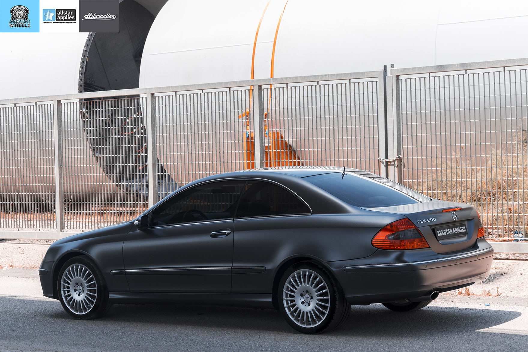MERCEDES BENZ CLK SATIN DARK GRAY 8