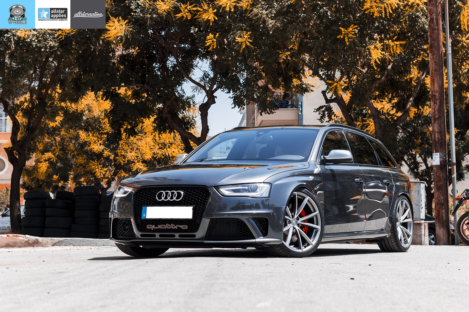 audi rs4 avant allstar applies PPF (4)