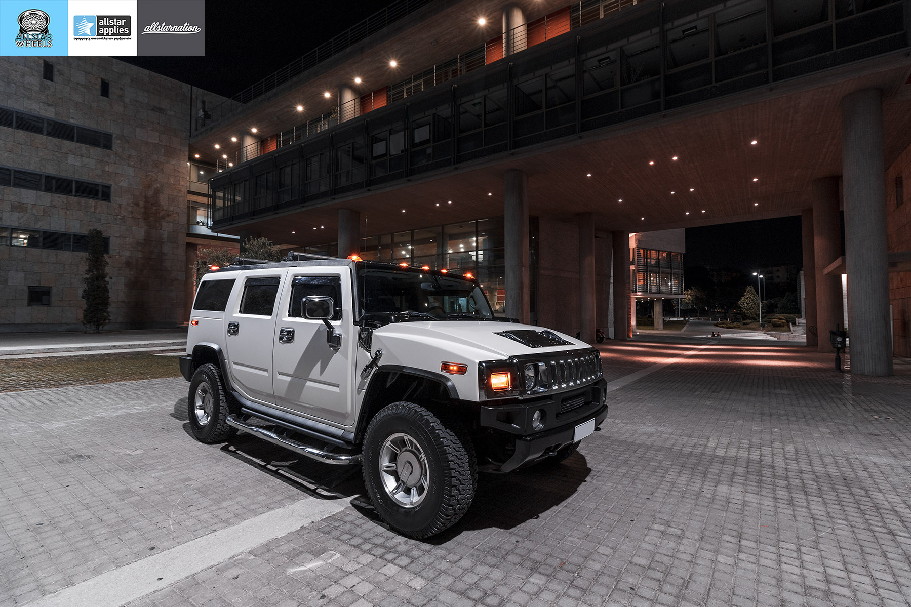 HUMMER H2 ALLSTAR APPLIES MATT DIAMOND WHITE PWF (11)