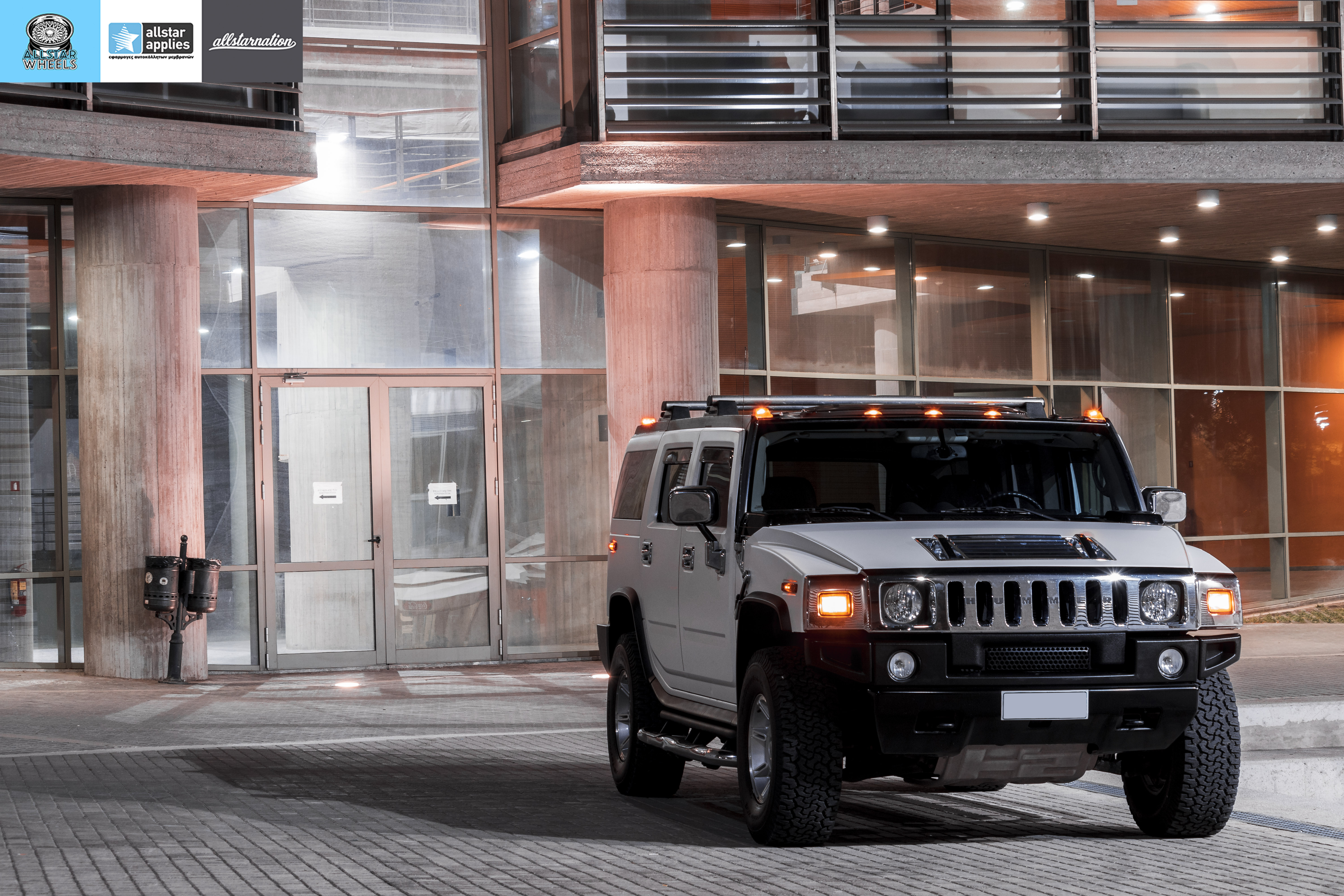 HUMMER H2 ALLSTAR APPLIES MATT DIAMOND WHITE PWF (15)