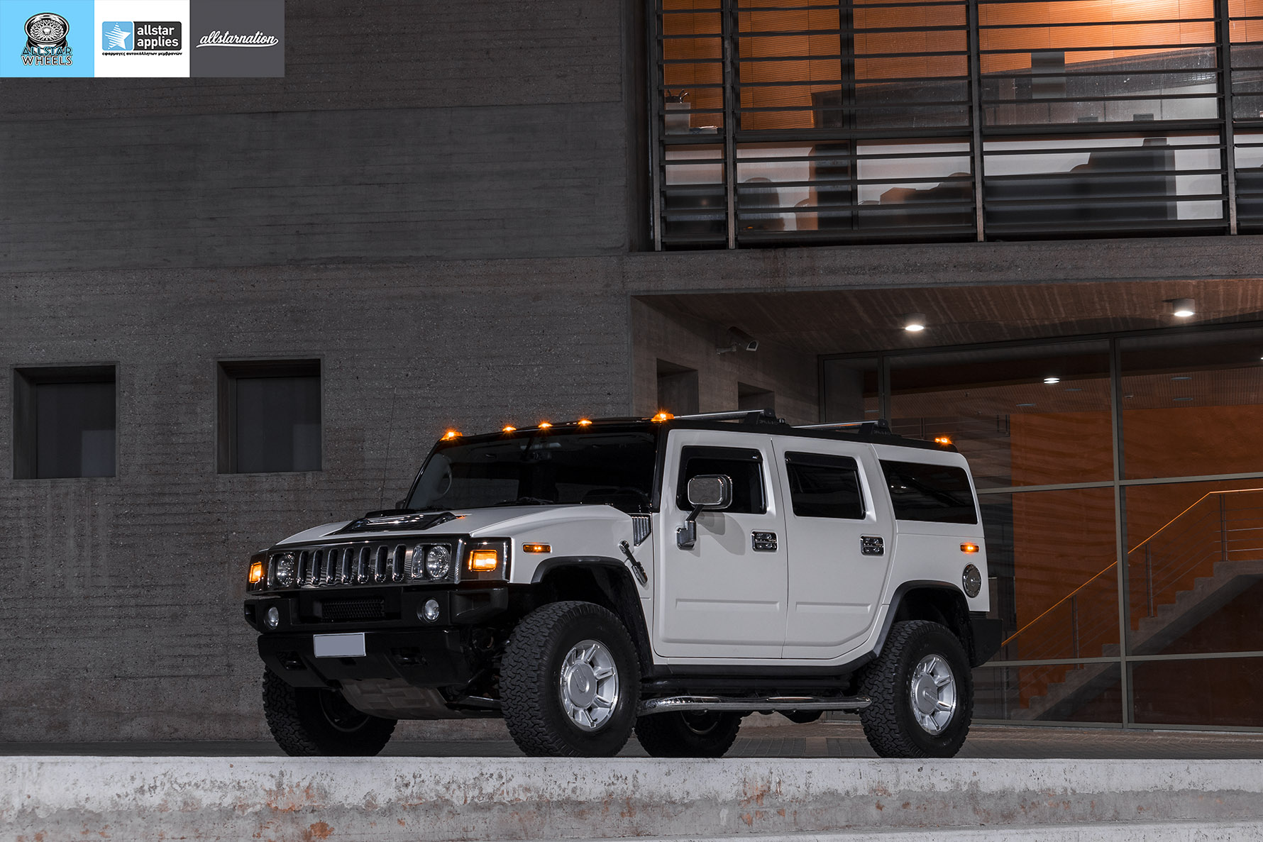 HUMMER H2 ALLSTAR APPLIES MATT DIAMOND WHITE PWF (16)