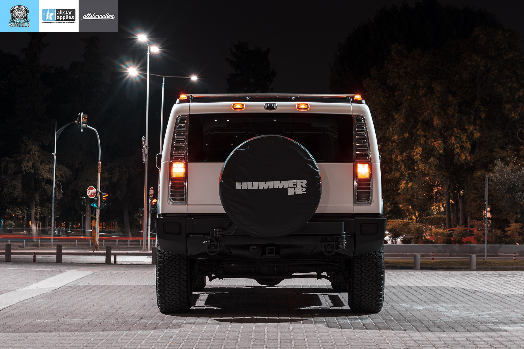 HUMMER H2 ALLSTAR APPLIES MATT DIAMOND WHITE PWF (4)