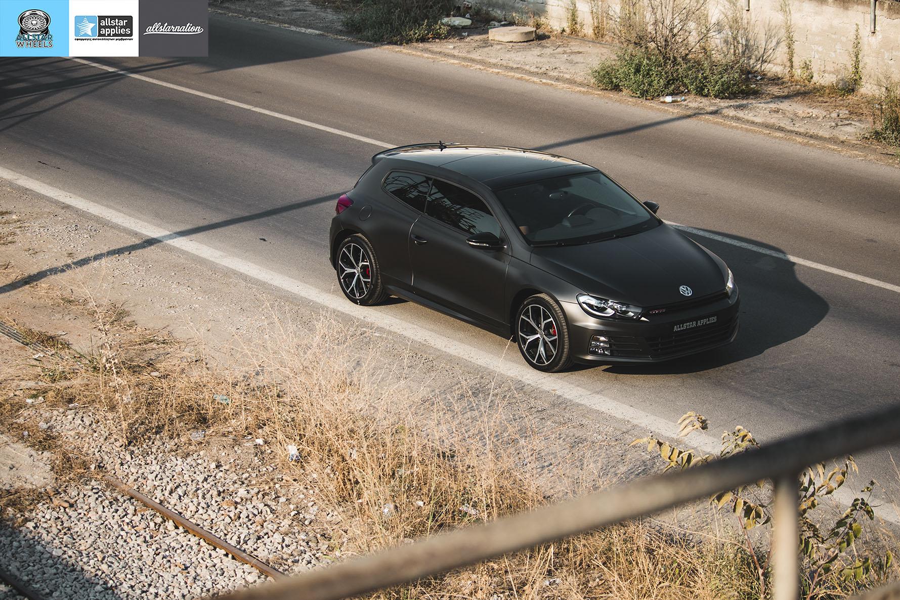 VW SCIROCCO MATT DIAMOND BLACK ALLSTAR APPLIES (14)