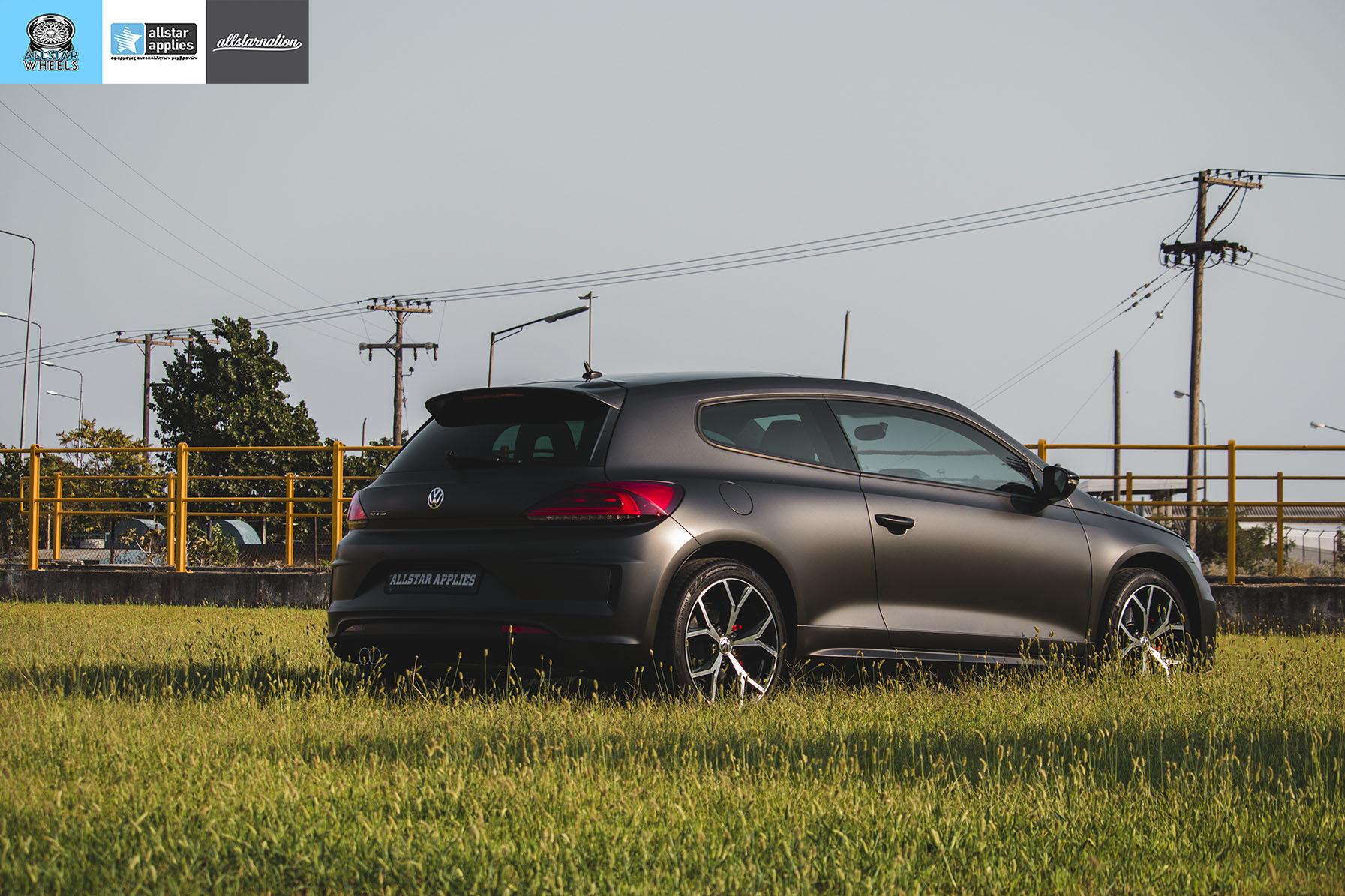 VW SCIROCCO MATT DIAMOND BLACK ALLSTAR APPLIES (7)
