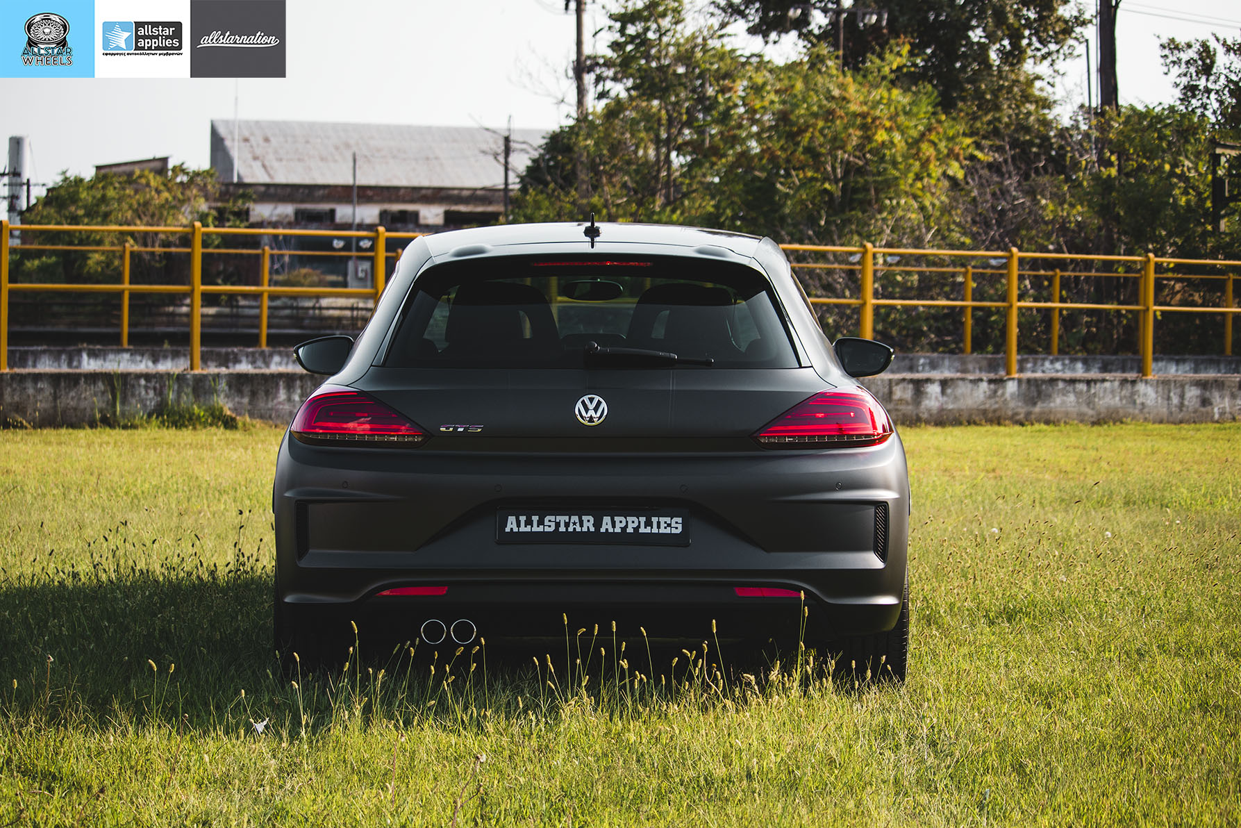 VW SCIROCCO MATT DIAMOND BLACK ALLSTAR APPLIES (8)