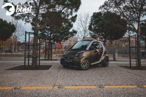 Smart αλλαγή χρώματος με αυτοκόλλητα στη Θεσσαλονίκη Allstar Applies