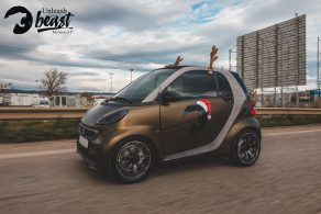Συστημά ενίσχυσης εξάτμισης Maxhaust σε Smart στη Θεσσαλονίκη Allstar applies