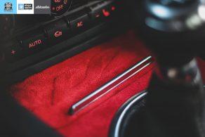 μεμβράνες εσωτερική επένδυσης alcantara, car wrapping Θεσσαλονίκη allstar applies
