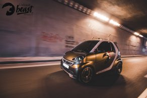 Car wrapping Smart fortwo στη Θεσσαλονίκη Allstar Applies