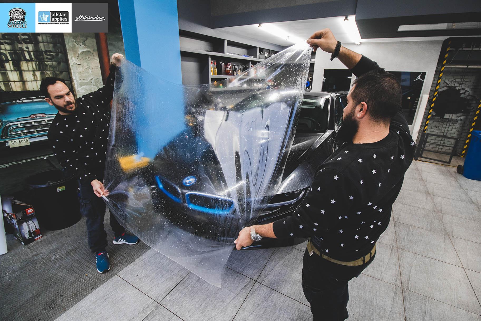 BMW I8 – Μεμβράνες προστασίας χρώματος – Μπροστινό πακέτο (13)