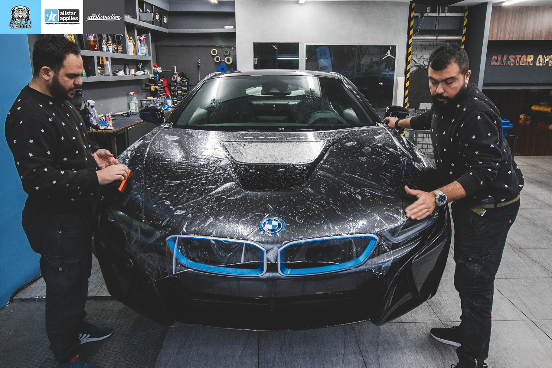 BMW I8 – Μεμβράνες προστασίας χρώματος By allstar applies in thessaloniki