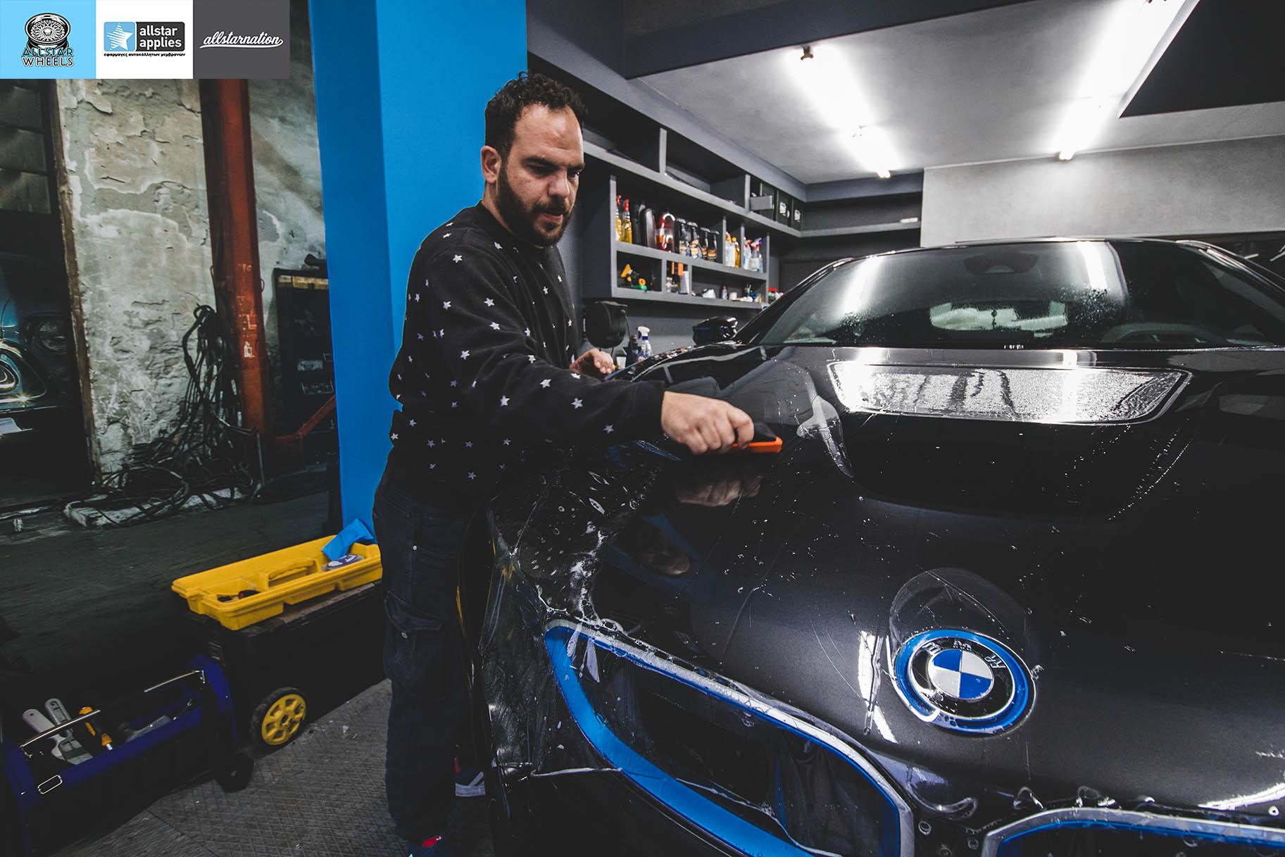 αυτοκόλλητα προστασίας αυτοκινήτου bmw i8 by Allstar Applies στη θεσσαλονίκη