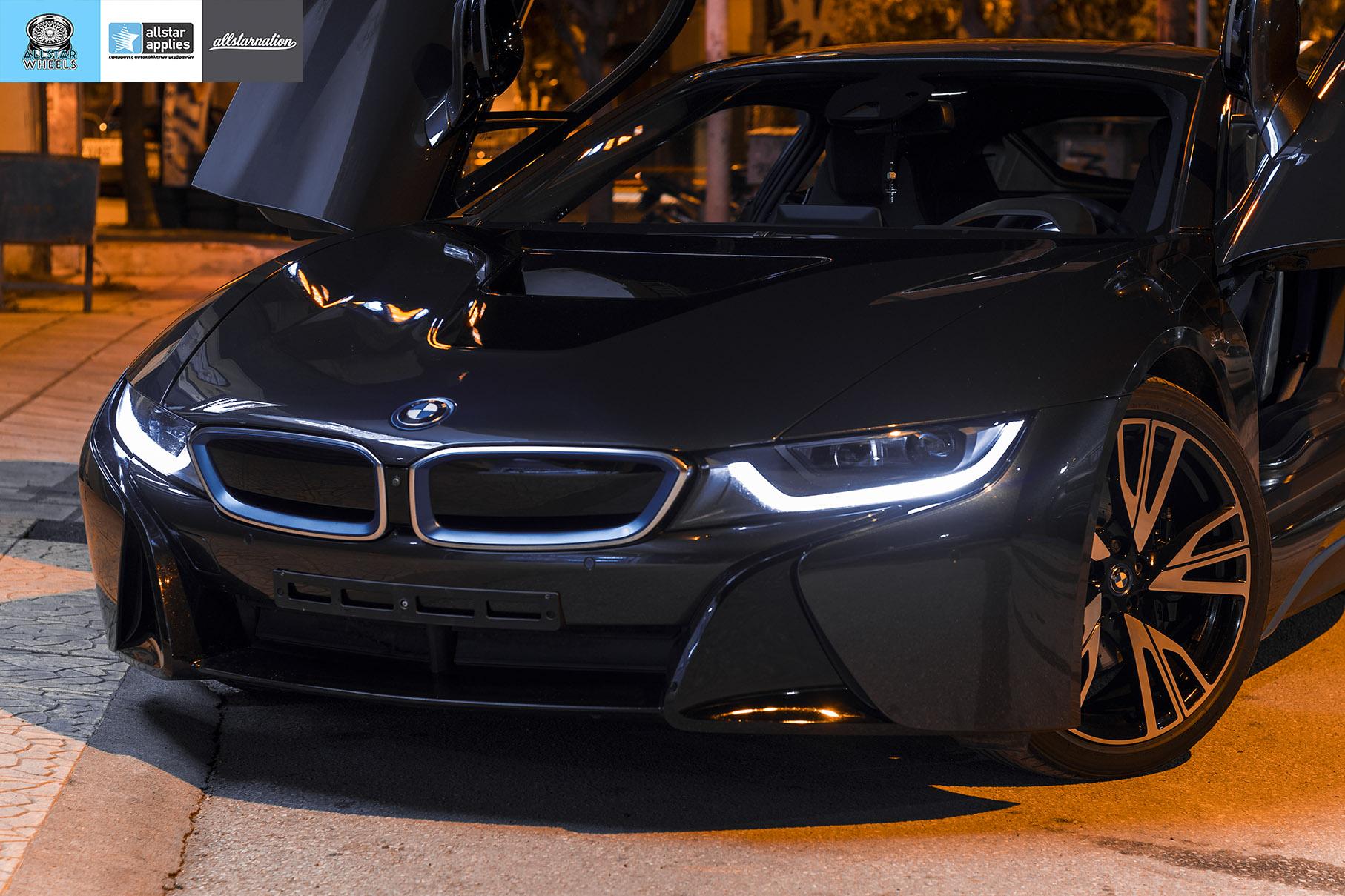 BMW I8 – Μεμβράνες προστασίας χρώματος – Μπροστινό πακέτο (6)
