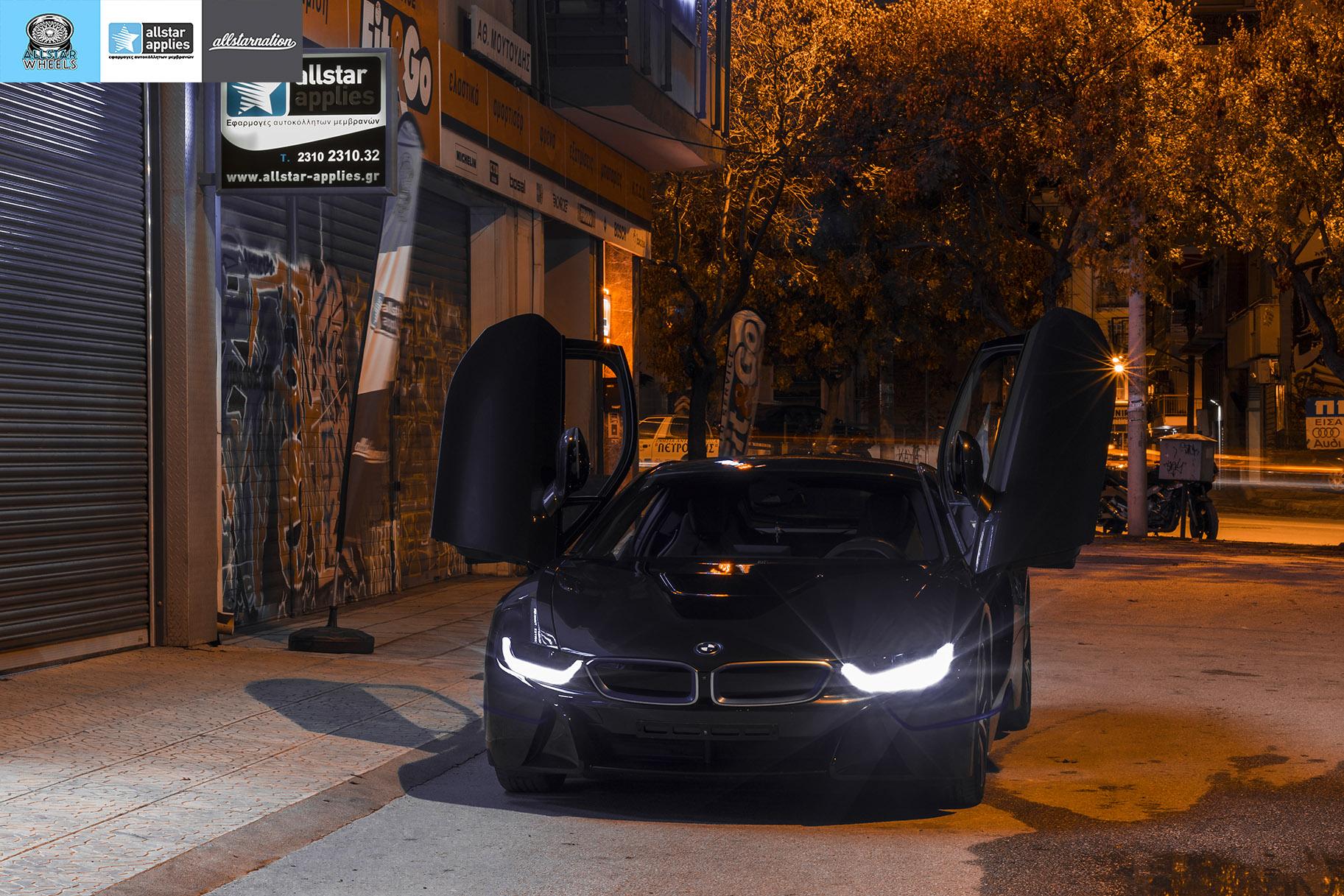 BMW I8 – Μεμβράνες προστασίας χρώματος – Μπροστινό πακέτο (8)
