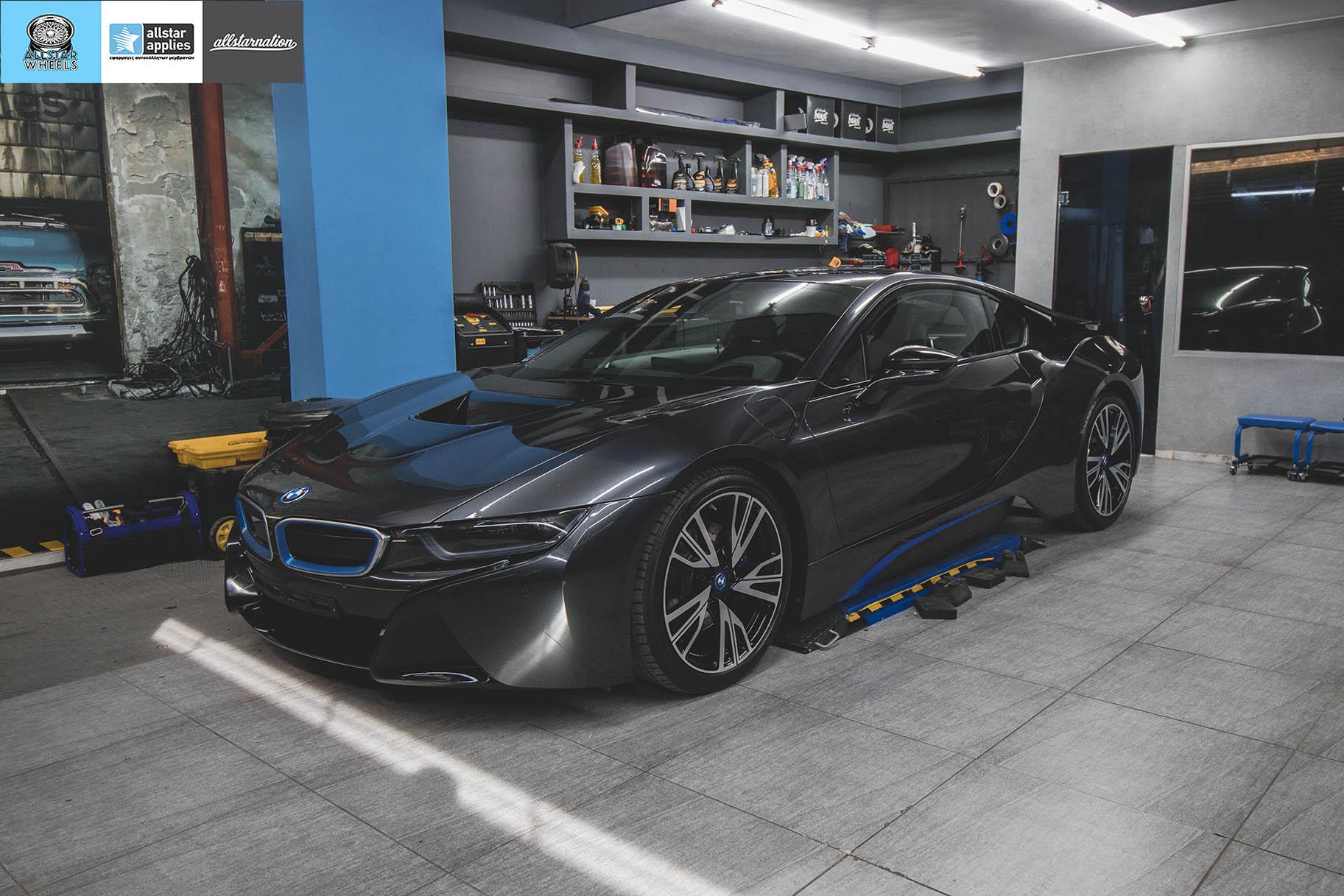 BMW I8 – Μεμβράνες προστασίας χρώματος – Μπροστινό πακέτο (9)