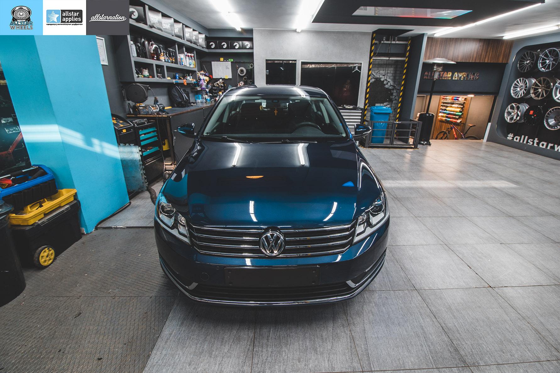 Μεμβράνες αλλαγής χρώματος σε VW Passat στη θεσσαλονίκη Allstar Applies