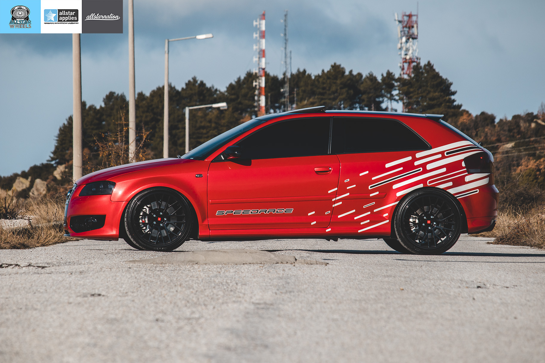 car wrapping audi allstar applies στη θεσσαλονίκη