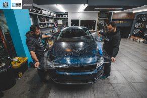 Μεμβράνες προστασίας χρώματος σε VW Passat στη θεσσαλονίκη Allstar Applies