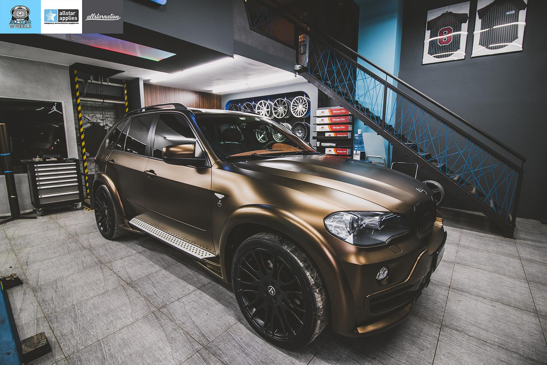 BMW X5 HAMANN MATT BOND GOLD (2)