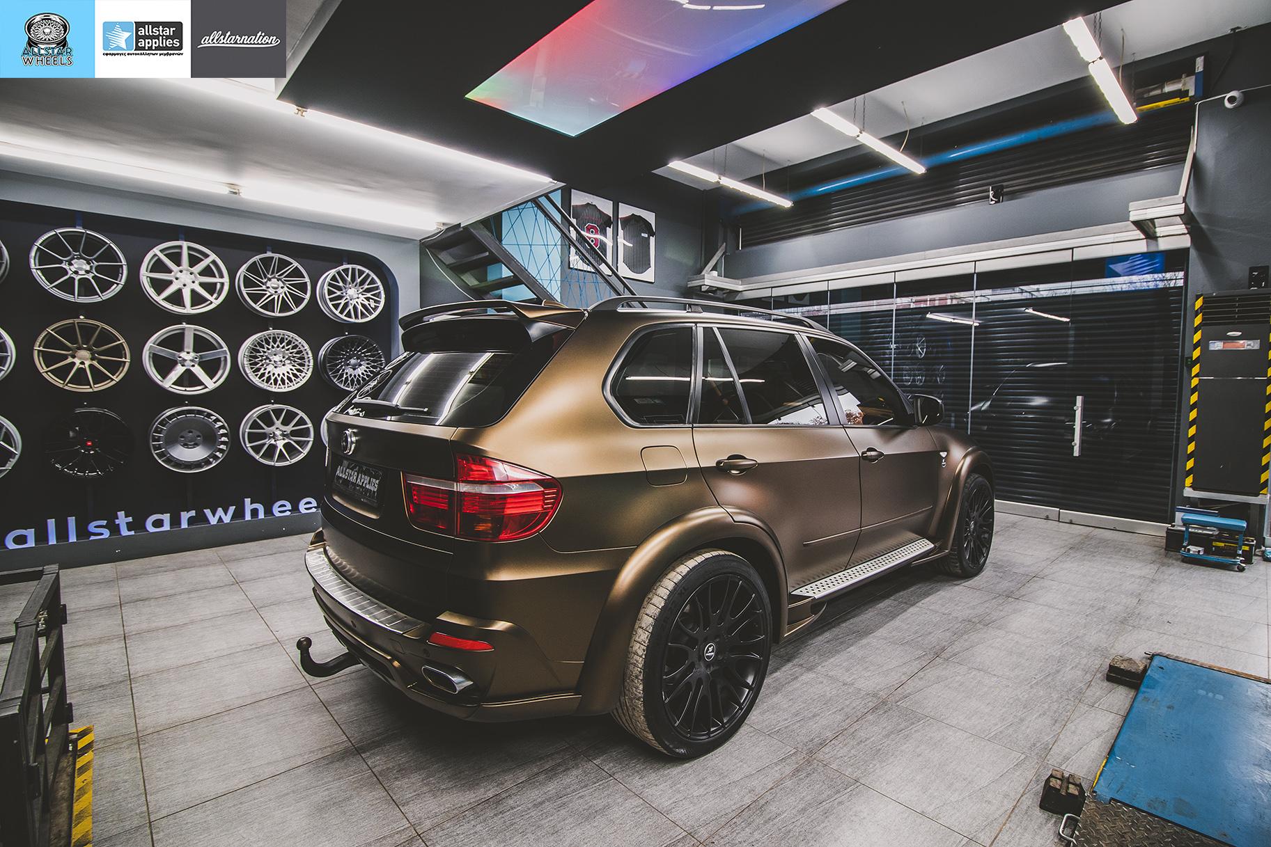 BMW X5 HAMANN MATT BOND GOLD (4)
