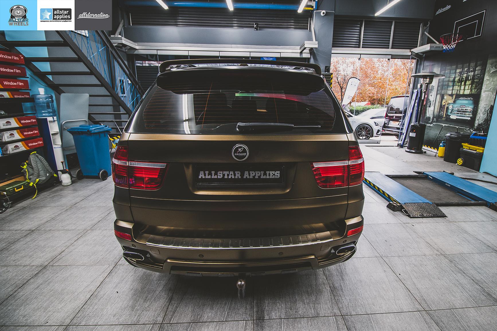 BMW X5 HAMANN MATT BOND GOLD (5)