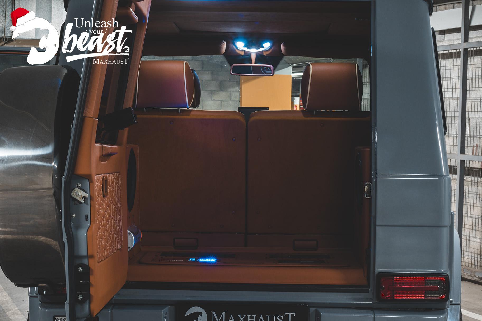 MERCEDES-BENZ G-CLASS AMG BRABUS MAXHAUST ACTIVE SOUD SYSTEM (7)