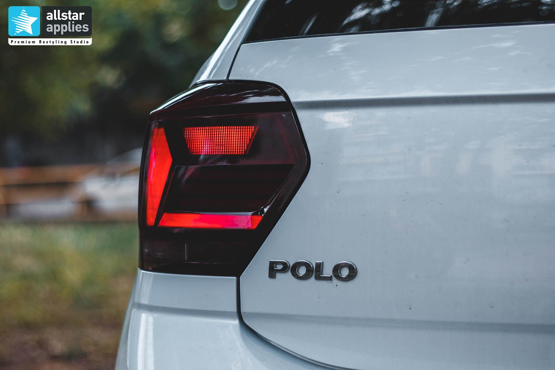 VW POLO 2020 WINDOW TINT - SMOKE TINT (1)