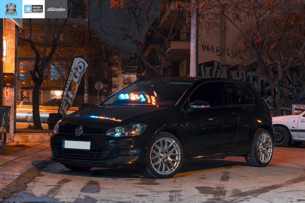Ζάντες αυτοκινήτου vw golf στη Θεσσαλονίκη allstar applies