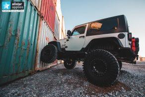 Μεμβράνες αλλαγής χρώματος σε Jeep Rubicon Allstar Applies στη Θεσσαλονίκη
