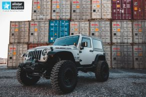 Αυτοκόλλητα αλλαγής χρώματος σε Jeep Allstar Applies στη Θεσσαλονίκη