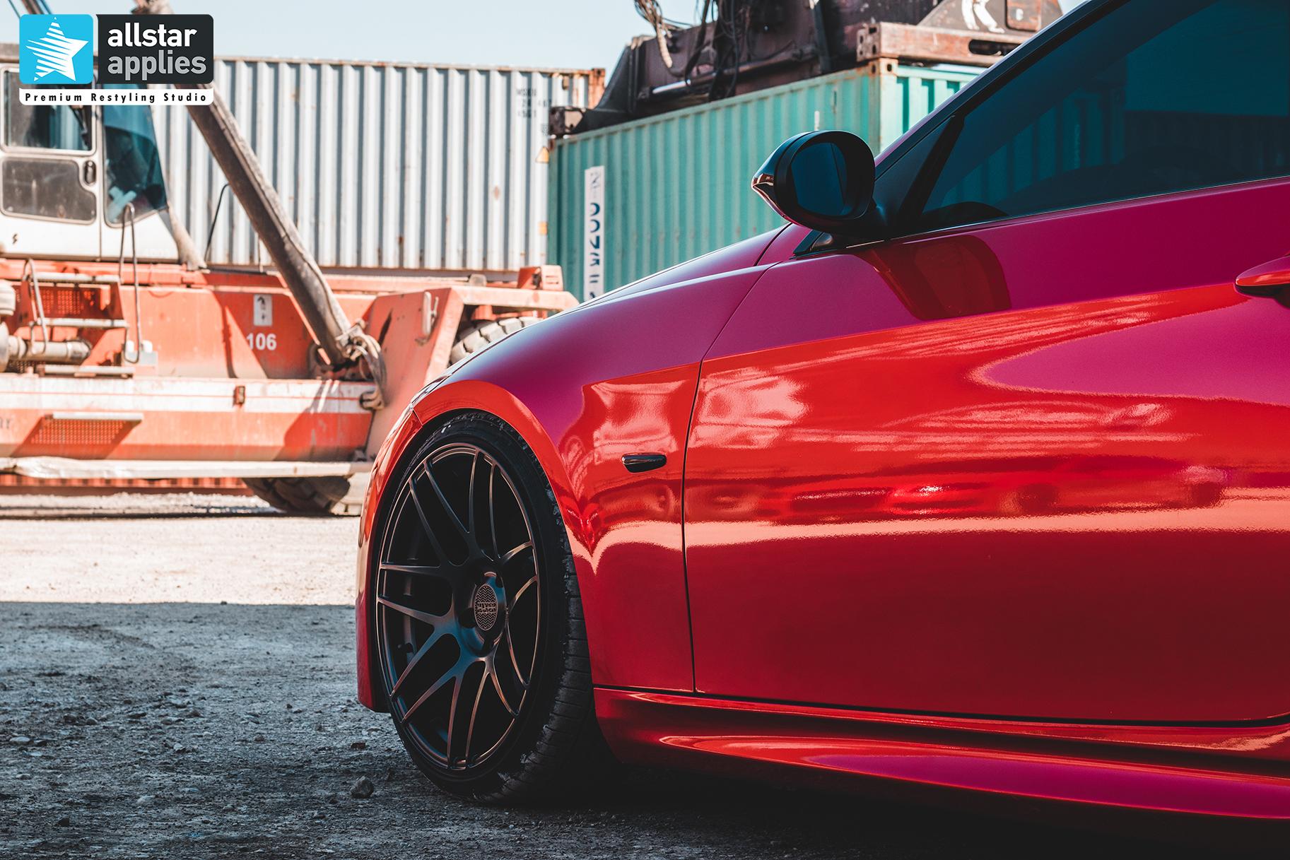 Ζάντες super car στη Θεσσαλονίκη Allstar applies