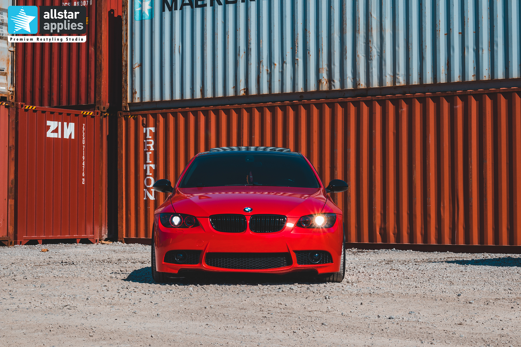 BMW E92 LUSCIOUS RED LIPS ALLSTAR APPLIES 4