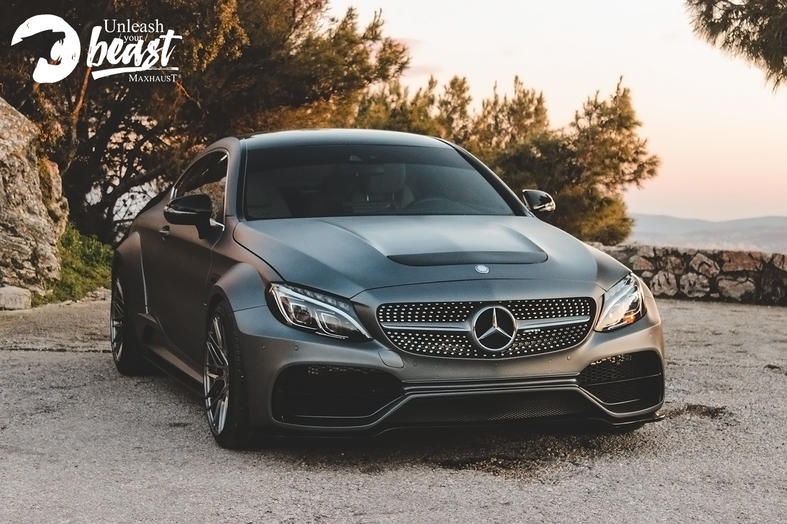 Car wrapping mercedes benz c στη Θεσσαλονίκη Allstar applies