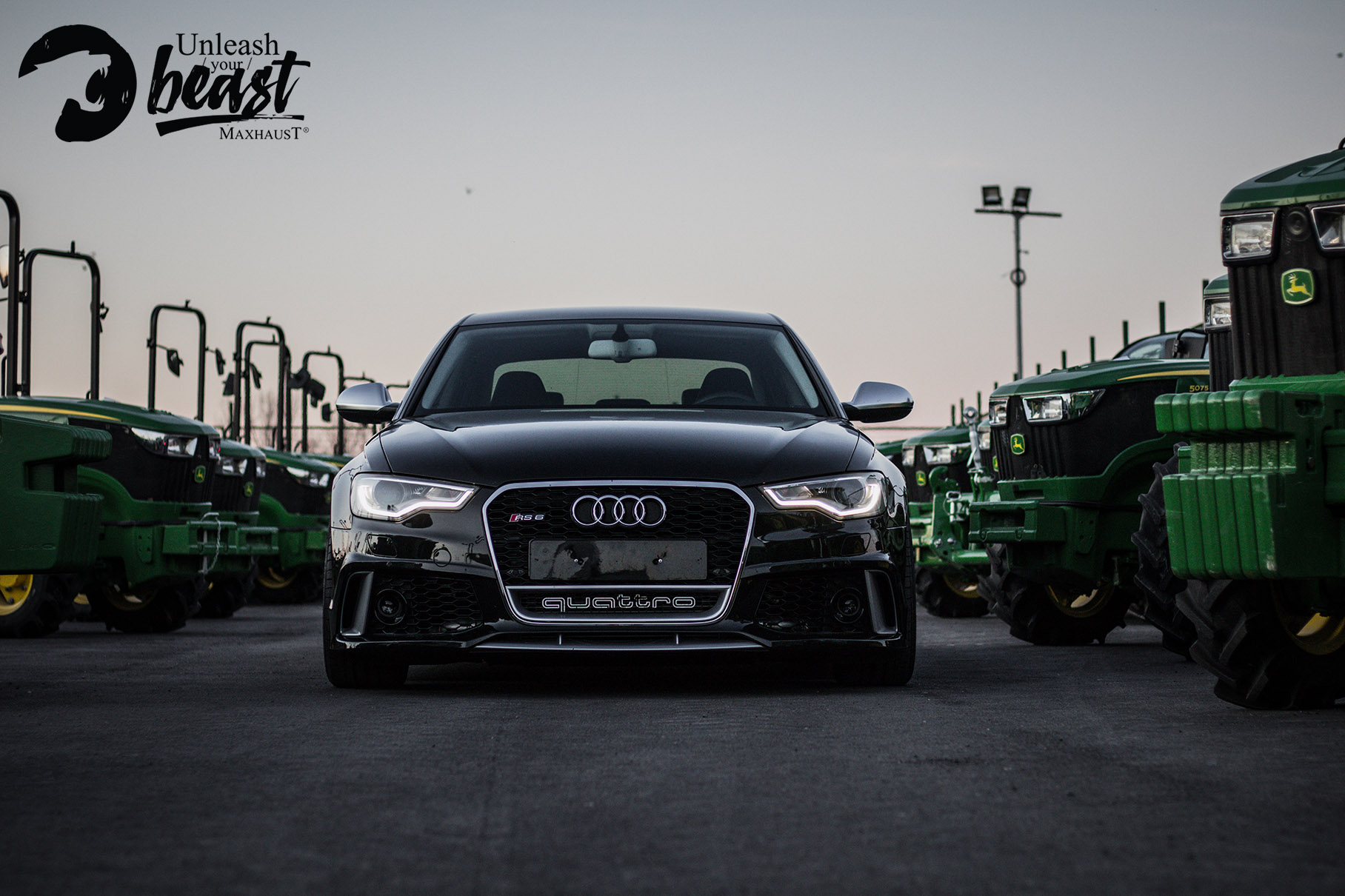 Audi Rs6 αλλαγή ήχου εξάτμισης Allstar applies στη Θεσσαλονίκη