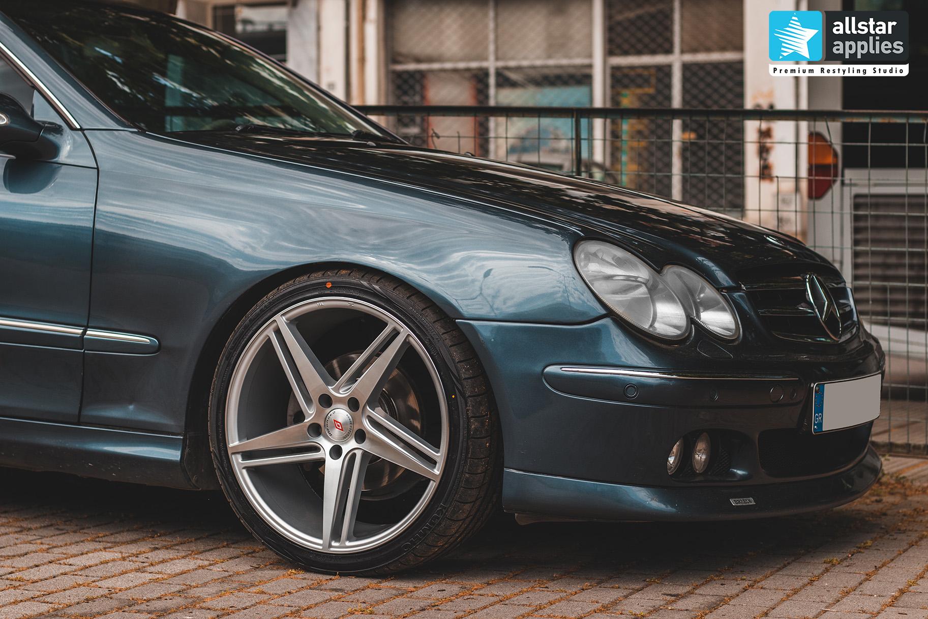 Μεμβράνη για αλλαγή χρώματος στη Θεσσαλονίκη σε Mercedes Benz CLK Allstar Applies