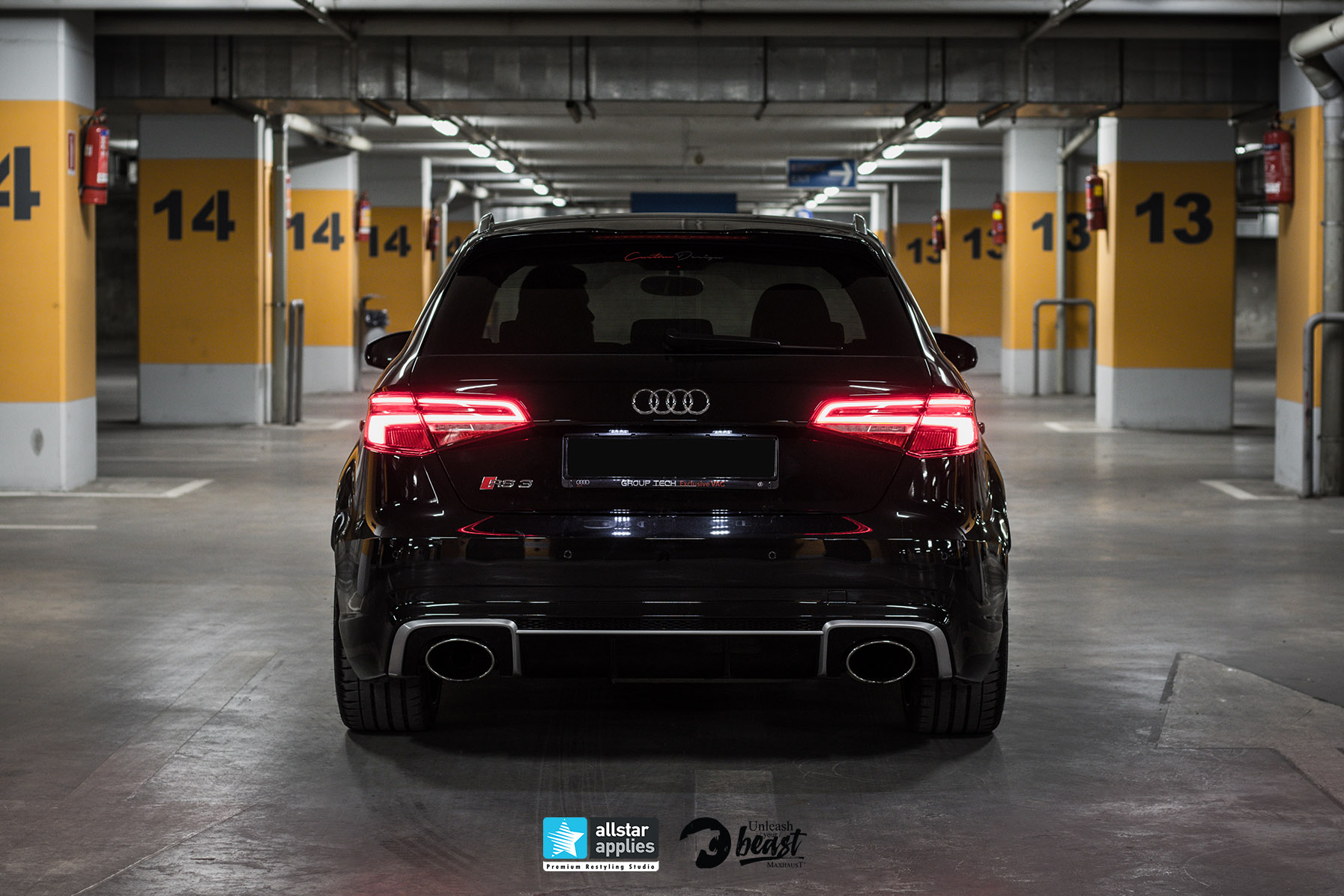 AUDI RS3 LOOK MAXHAUST 3