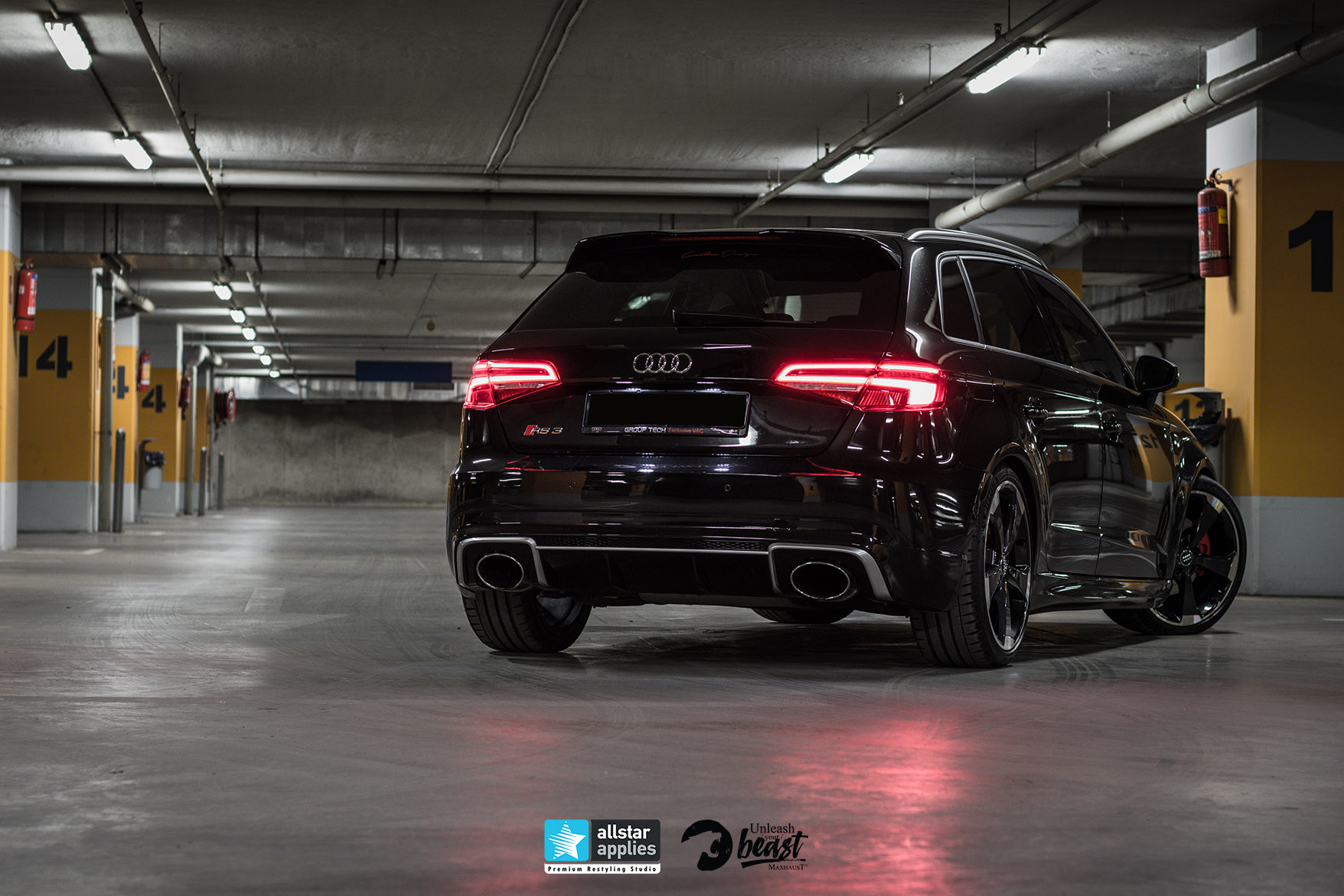 AUDI RS3 LOOK MAXHAUST 5