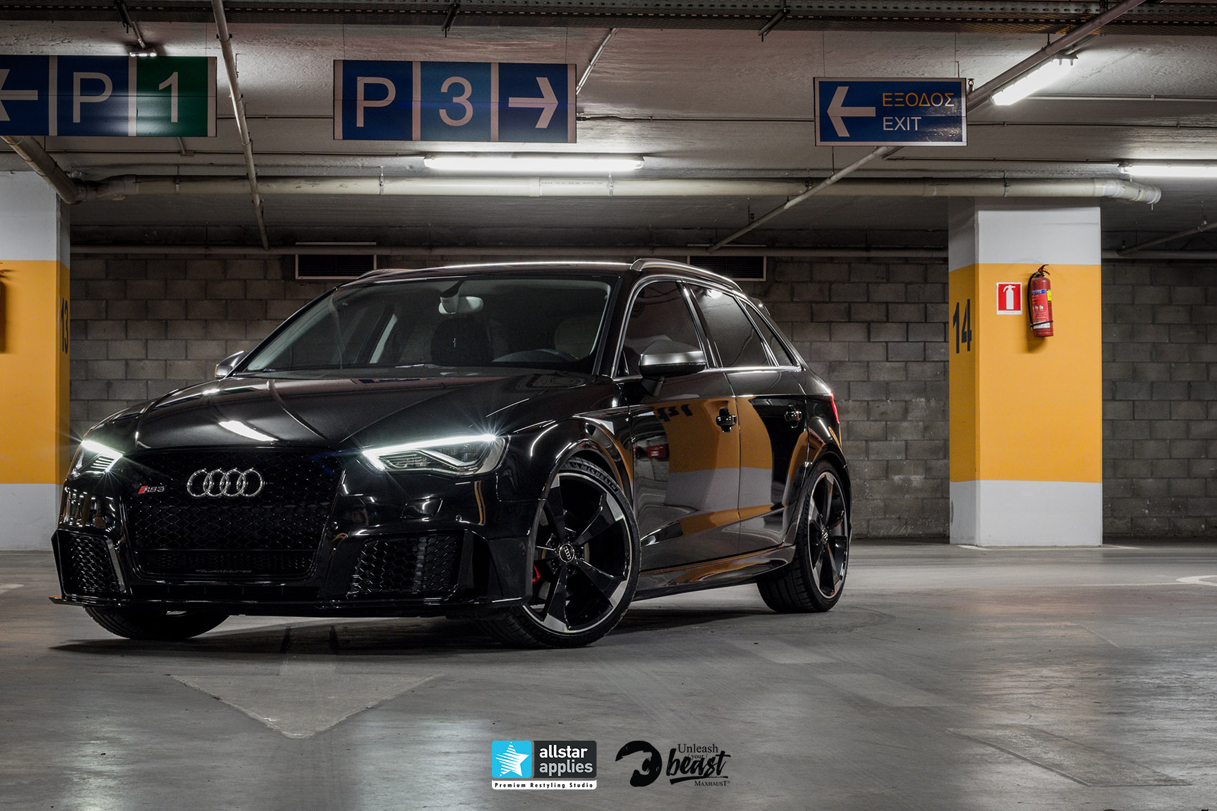 AUDI RS3 LOOK MAXHAUST 9