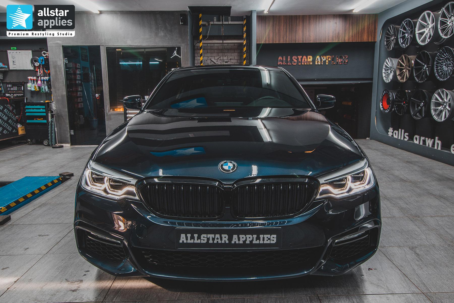 BMW G30 5 SERIES M ALLSTAR APPLIES PPF 13