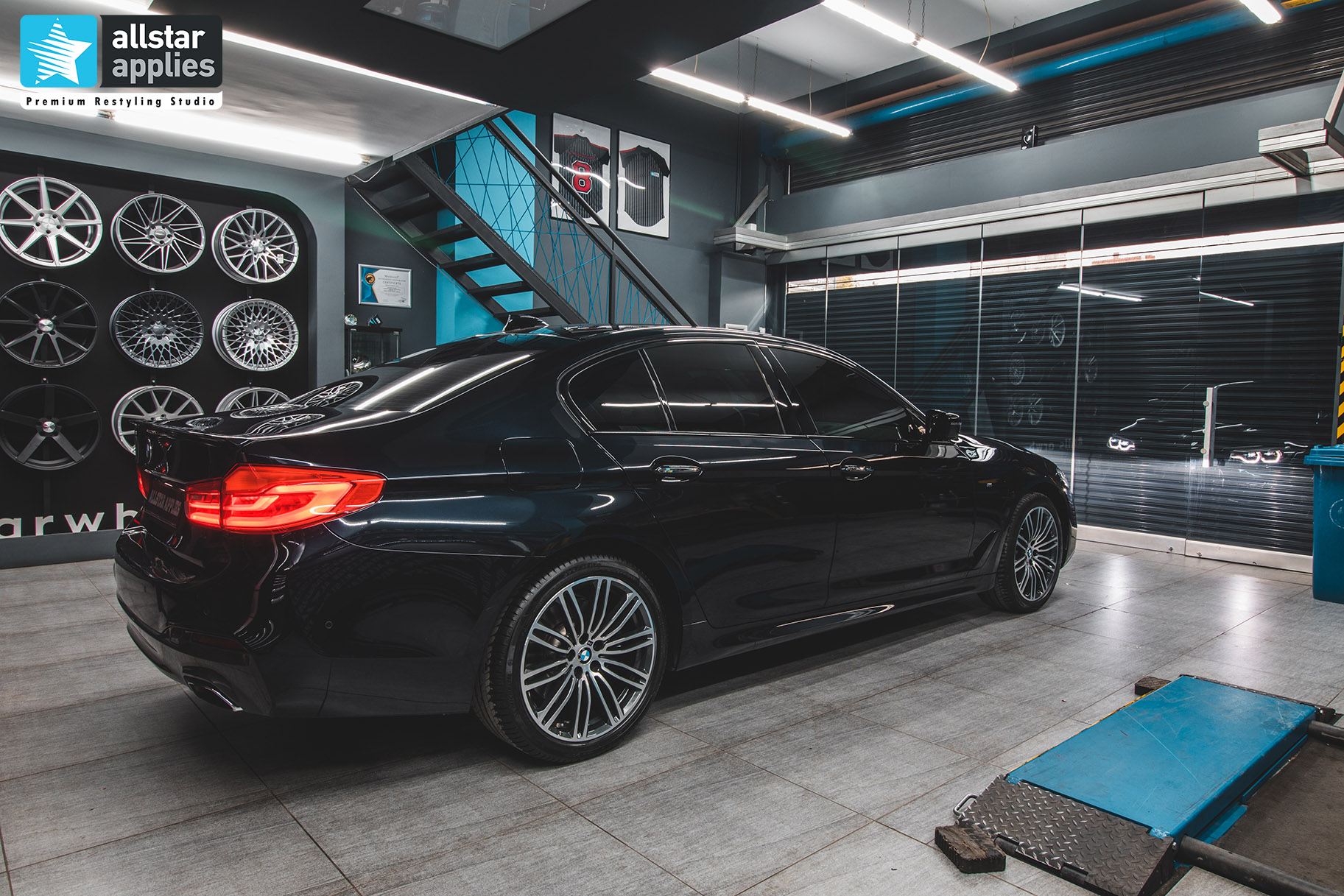BMW G30 5 SERIES M ALLSTAR APPLIES PPF 3