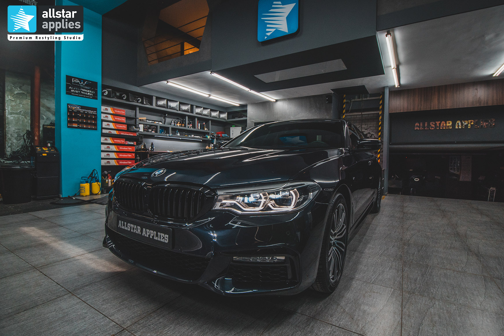 BMW G30 5 SERIES M ALLSTAR APPLIES PPF 5