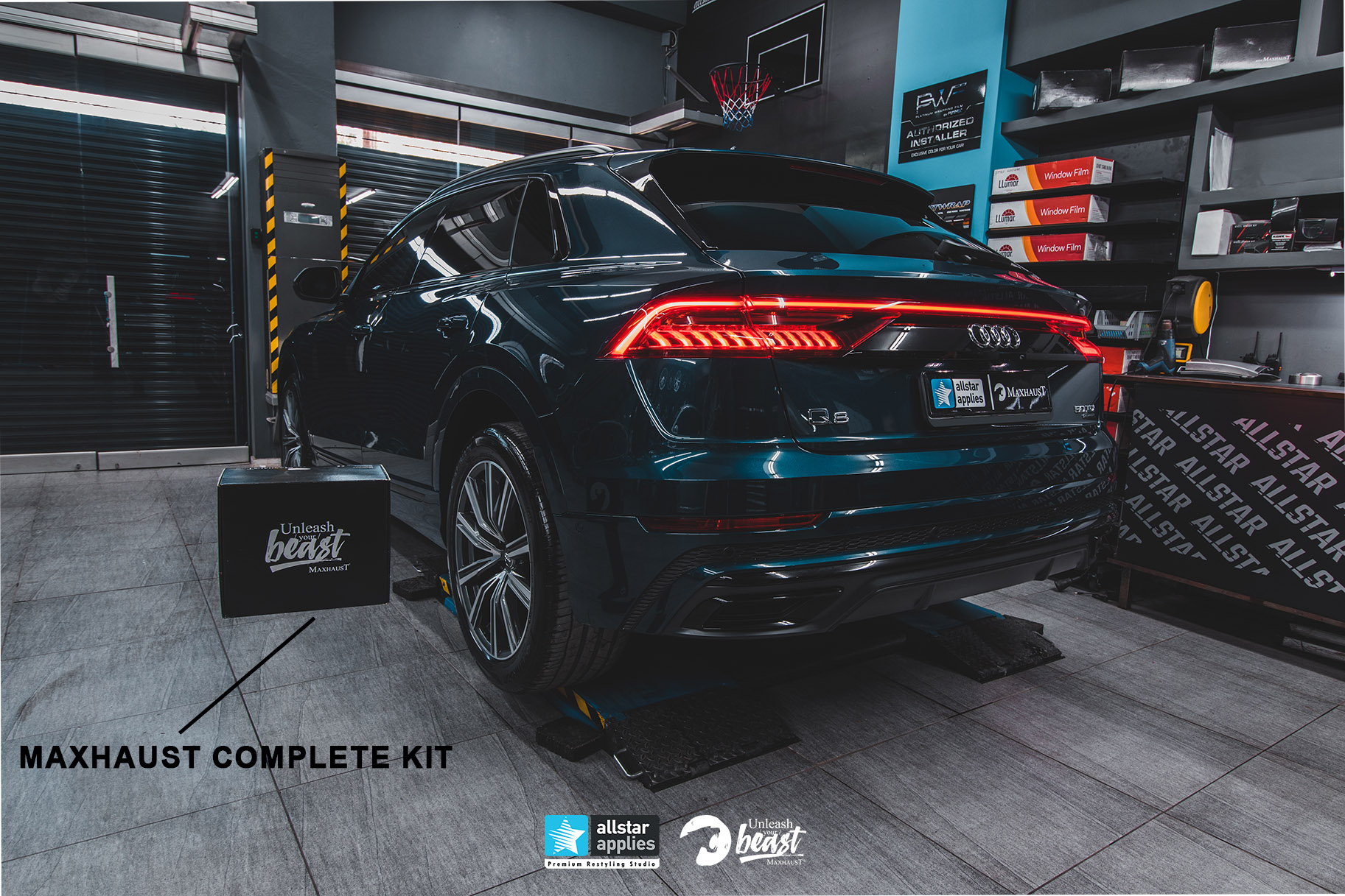 AUDI Q8 MAXHAUST ALLSTAR APPLIES (1)