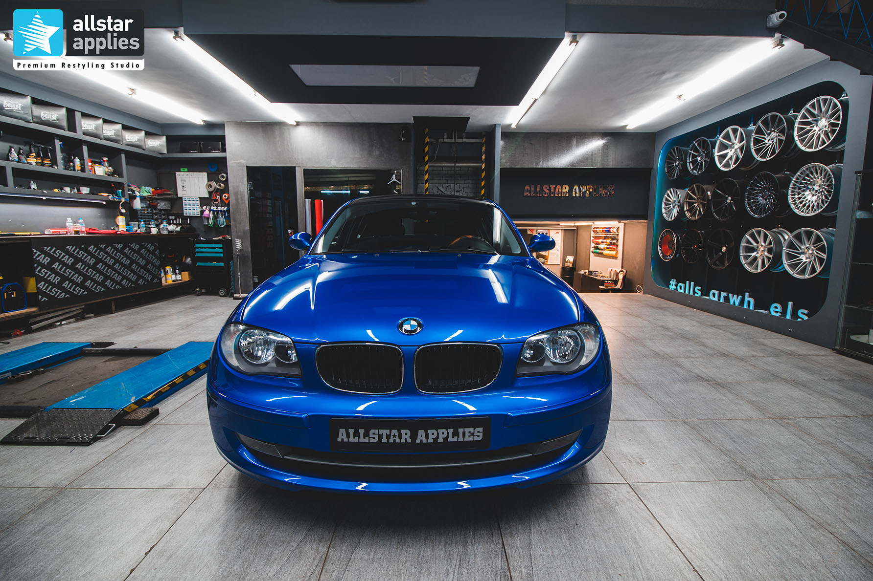 BAHAMA BLUE BMW SERIES 1 ALLSTAR APPLIES (2)