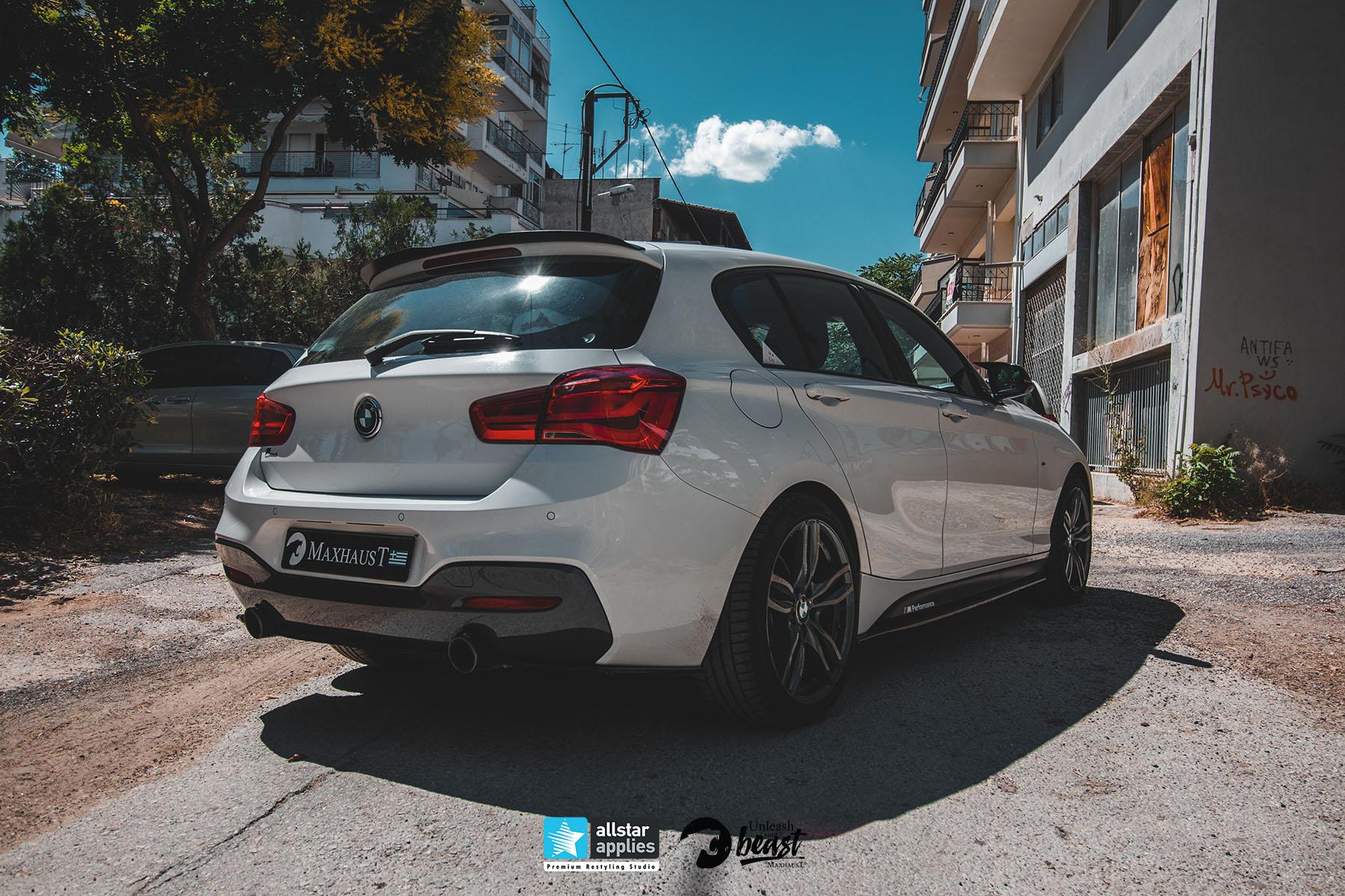 BMW SERIES 1 M PACKET MAXHAUST 8