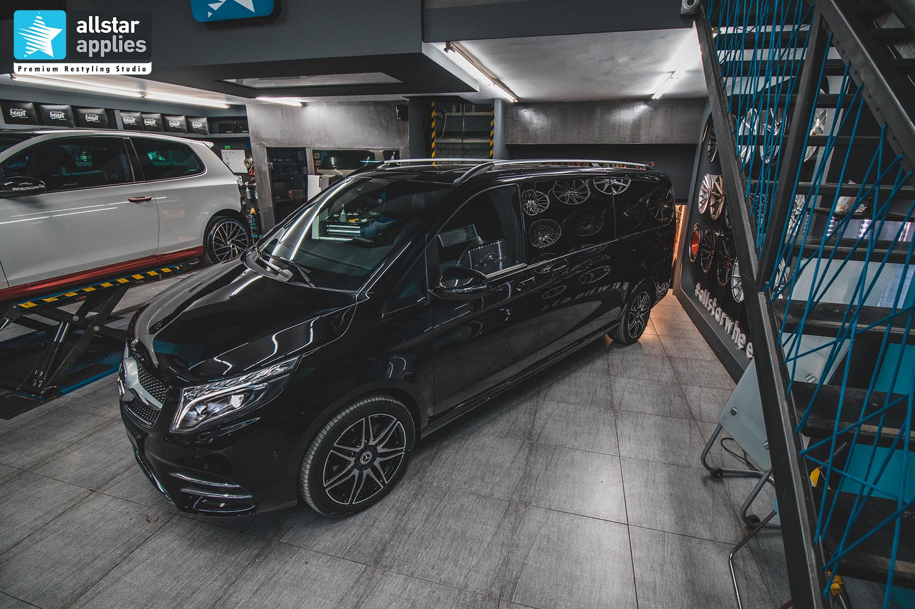 MERCEDES-BENZ V-CLASS PPF FRONT PACKAGE 10