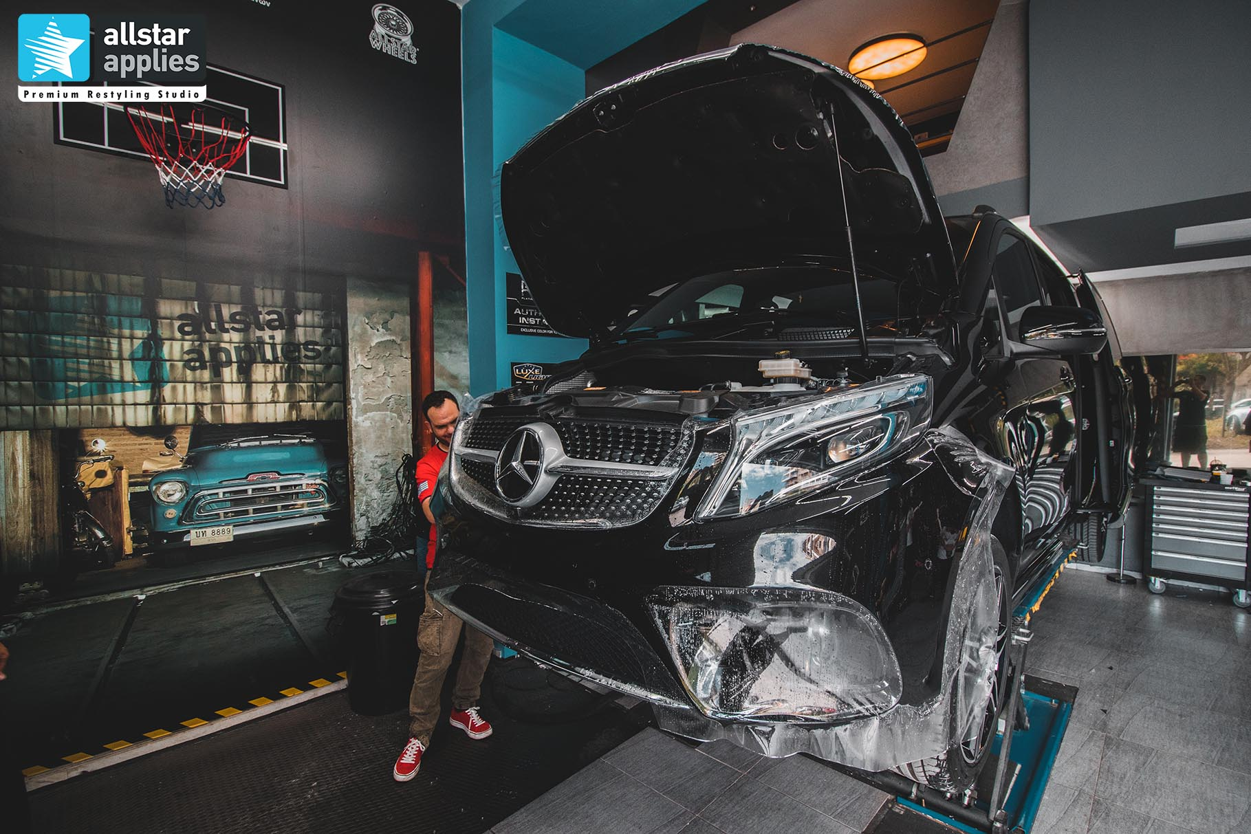 MERCEDES-BENZ V-CLASS PPF FRONT PACKAGE 5