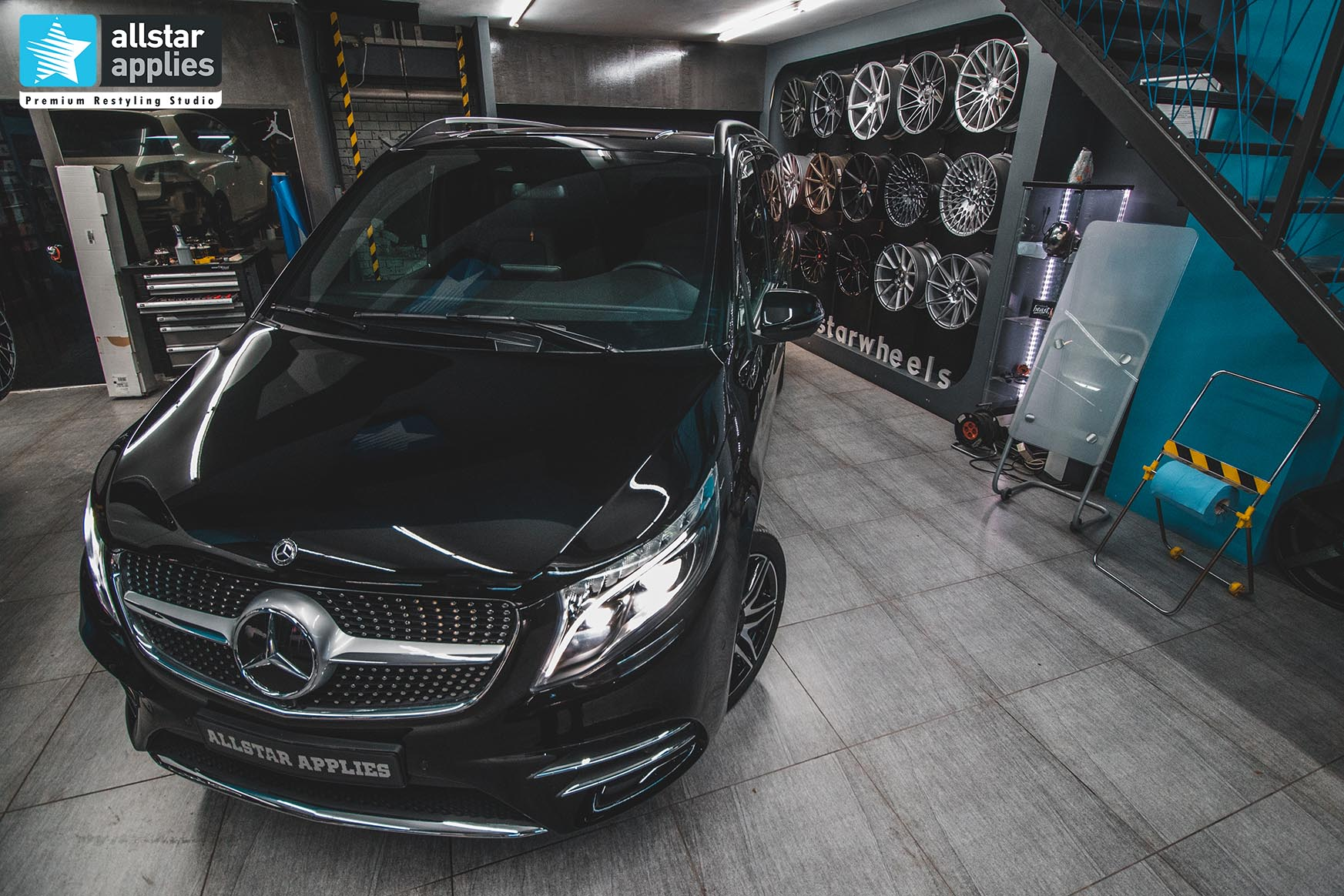 MERCEDES-BENZ V-CLASS PPF FRONT PACKAGE 7