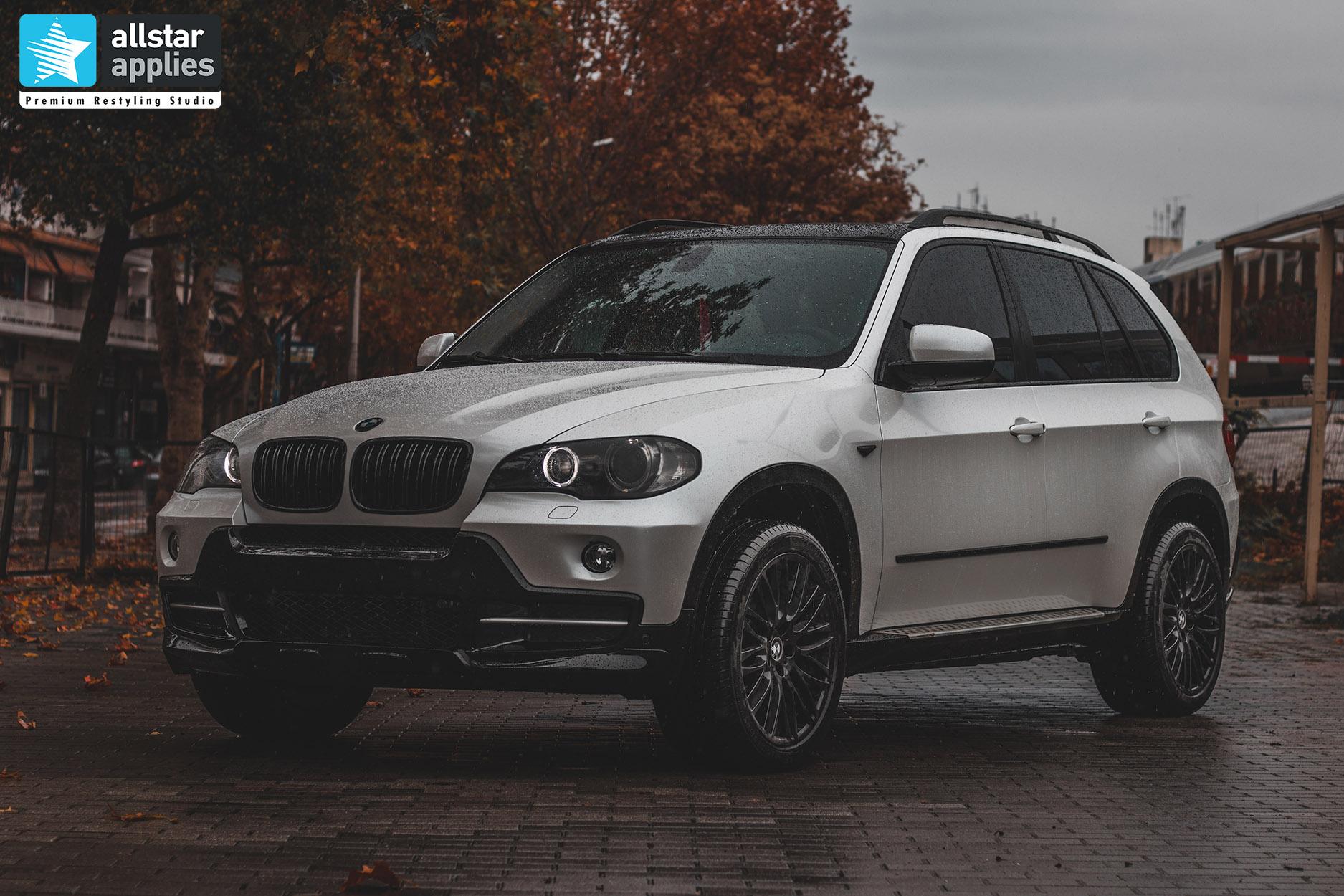 BMW X5 WHITE METALLIC 1